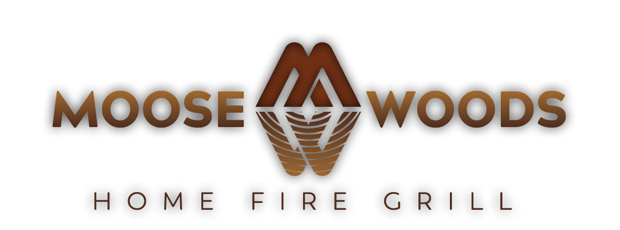 Moose Woods Home Fire Grill Logo